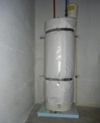 water heater moved